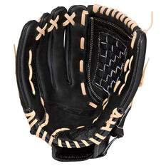 Rawlings SS Left Hand Throw Baseball Glove Black / Brown 12in Left Hand Throw, Black / Brown, rebel_hi-res