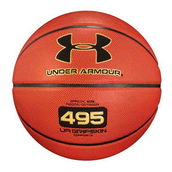 Under Armour 495 Indoor/Outdoor Basketball Orange 7, , rebel_hi-res