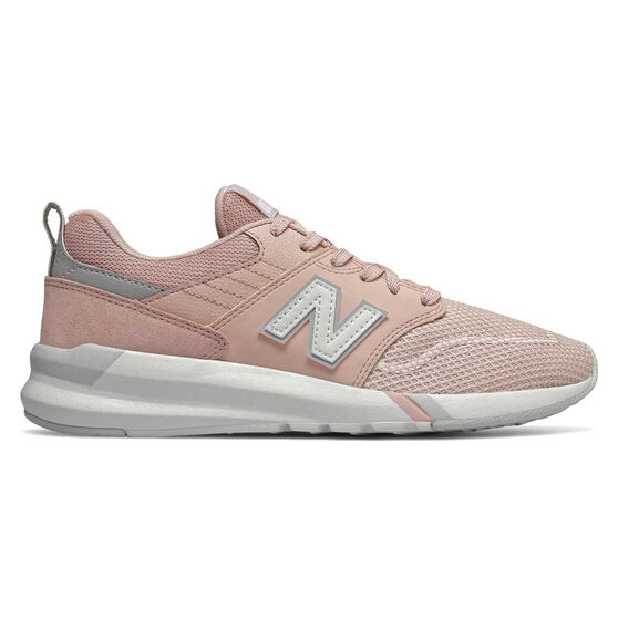 New Balance 009 Womens Casual Shoes, Pink / White, rebel_hi-res