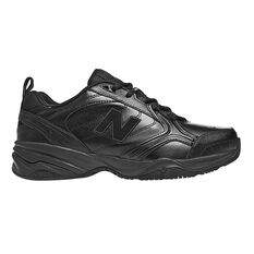 New Balance 624 V4 2E Mens Cross Training Shoes Black US 7, Black, rebel_hi-res