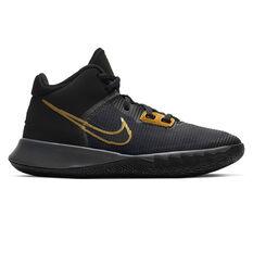 Nike Kyrie Flytrap 4 Kids Basketball Shoes Black US 4, Black, rebel_hi-res