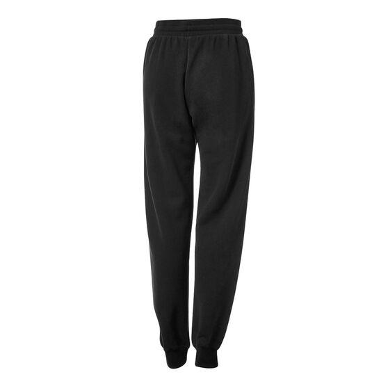 Running Bare Womens AB Waisted Legacy Sweatpants Black XL, Black, rebel_hi-res