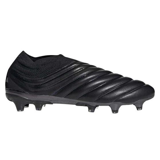 adidas Copa 19+ Football Boots, Black / Silver, rebel_hi-res