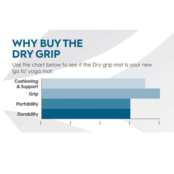Gaiam Dry Grip Yoga Mat 4mm, , rebel_hi-res