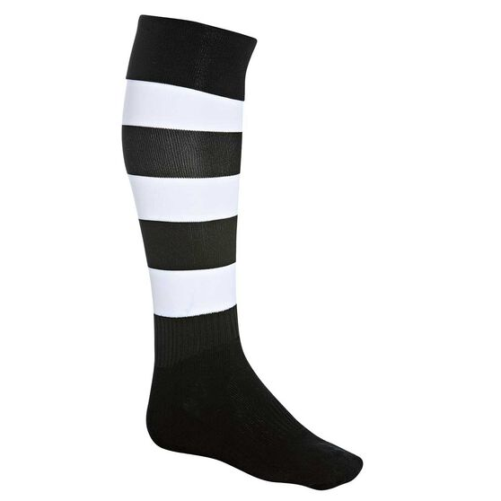 Burley Football Socks, Royal  /  white, rebel_hi-res