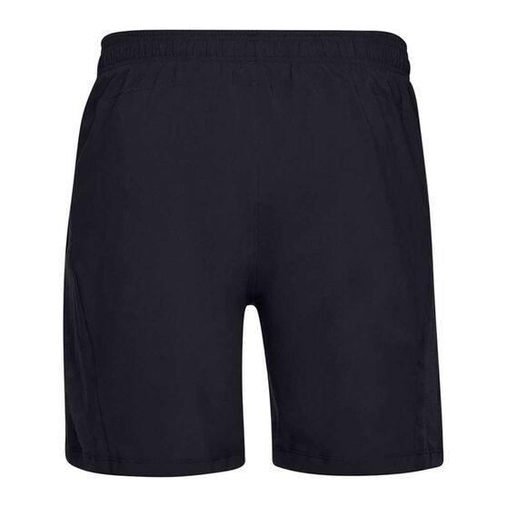 Under Armour Mens Launch 2in1 Running Shorts, Black, rebel_hi-res