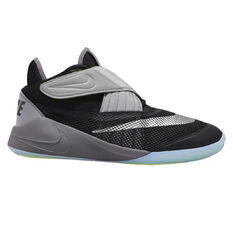 Nike Future Flight 2 Kids Basketball Shoes Black / Green US 1, Black / Green, rebel_hi-res
