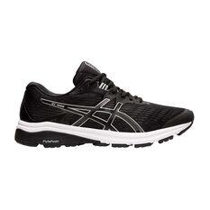 Asics GT 1000 8 Mens Running Shoes Black / Silver US 7, Black / Silver, rebel_hi-res