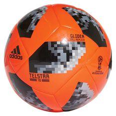 adidas Telstar 2018 Top Glider Soccer Ball Red / Black 3, Red / Black, rebel_hi-res