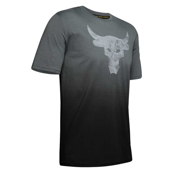 Under Armour Mens Project Rock Bull Graphic Training Tees, , rebel_hi-res