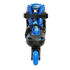 Goldcross GXC165 2 in 1 Inline Skates Blue 12-2, Blue, rebel_hi-res