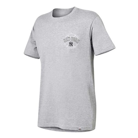 New York Yankees Mens Kardy Tee, Grey, rebel_hi-res
