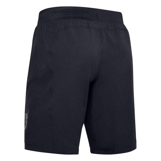 Under Armour Mens Project Rock Unstoppable Shorts, Black, rebel_hi-res