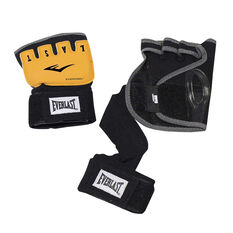 Everlast EverGel Hand Wraps Black S / M, Black, rebel_hi-res