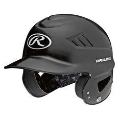 Rawling CoolFlo Baseball Batting Helmet Black, , rebel_hi-res