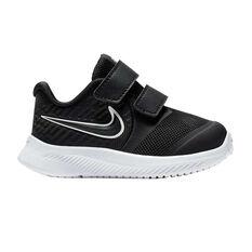 Nike Star Runner 2 Toddlers Shoes Black / White US 4, Black / White, rebel_hi-res