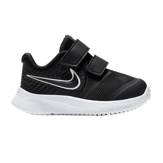 Nike Star Runner 2 Toddlers Shoes Black / White US 10, Black / White, rebel_hi-res