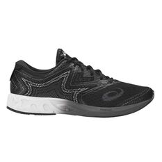 Asics Gel Noosa FF Mens Running Shoes Black / Grey US 7, Black / Grey, rebel_hi-res