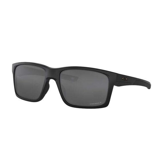 Oakley Mainlink XL Polarised Sunglasses Matte Black/Prizm Black, Matte Black/Prizm Black, rebel_hi-res