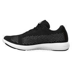 Under Armour Rapid Womens Running Shoes Black / White US 6, Black / White, rebel_hi-res