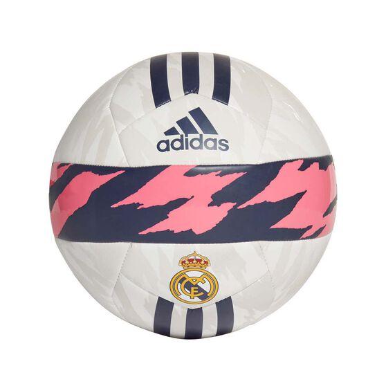 adidas Real Madrid Club Ball White / Pink / Blue 5, , rebel_hi-res