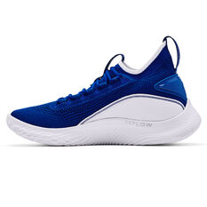 Under Armour Curry 8 Mens Basketball Shoes Royal US 7, Royal, rebel_hi-res