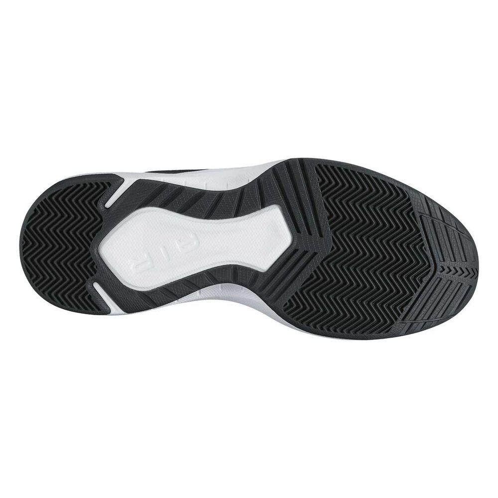 e3e6b1565d5830 Nike Air Overplay IX Mens Basketball Shoes Black   Grey US 7