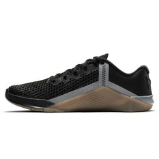Nike Metcon 6 Mens Training Shoes Black/Grey US 7, Black/Grey, rebel_hi-res