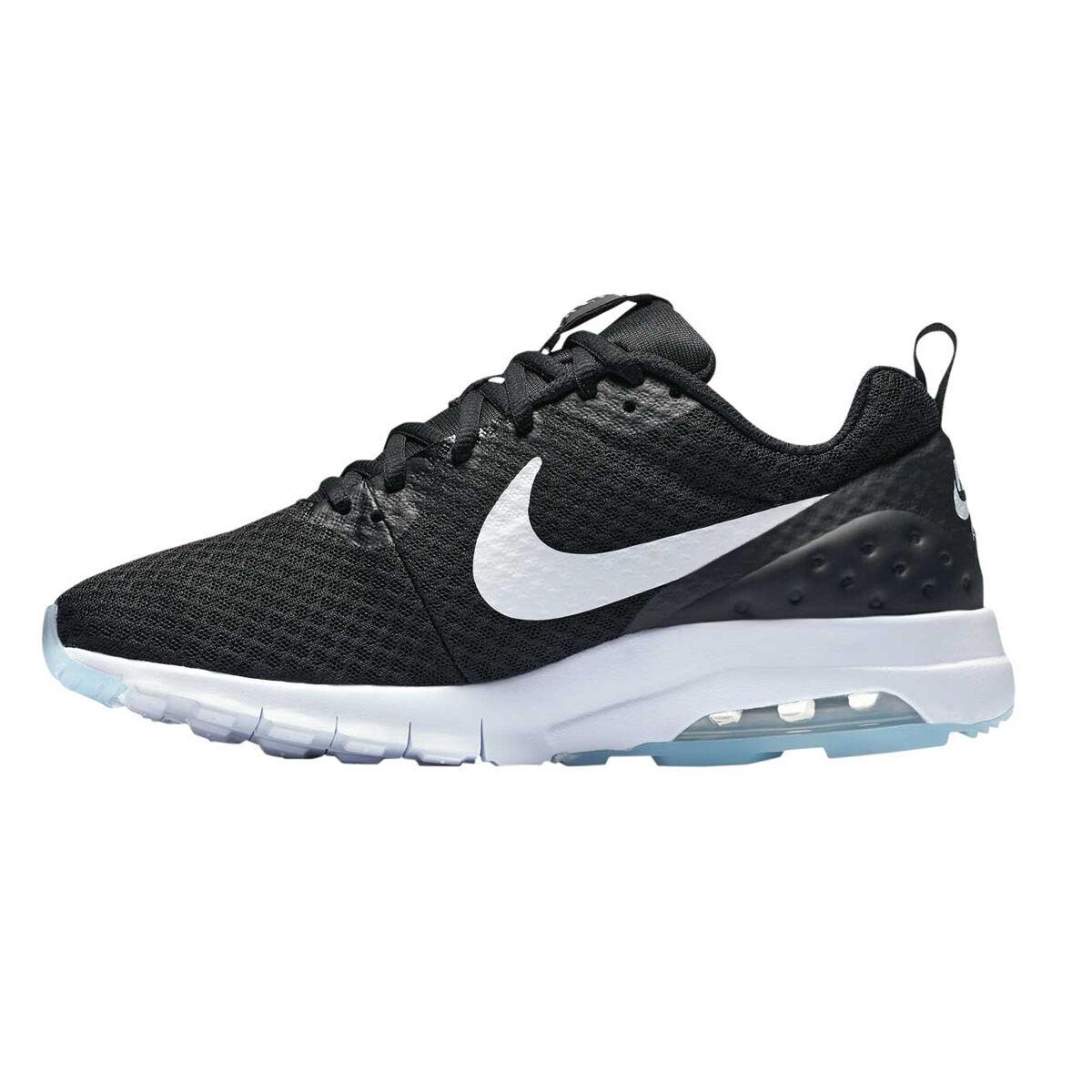 Nike Air Max Motion Womens Casual Shoes Black White US 6