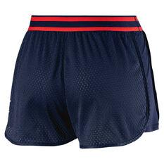 Puma Womens A.C.E. Mesh Shorts Navy XS, Navy, rebel_hi-res