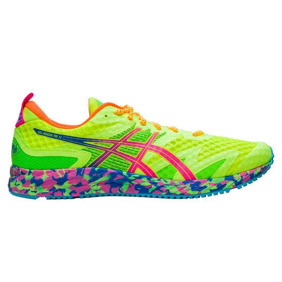 Asics GEL Noosa Tri 12 Mens Running Shoes, Yellow / Pink, rebel_hi-res