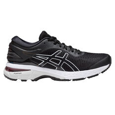 Asics Gel Kayano 25 Womens Running Shoes Black / White US 6, Black / White, rebel_hi-res
