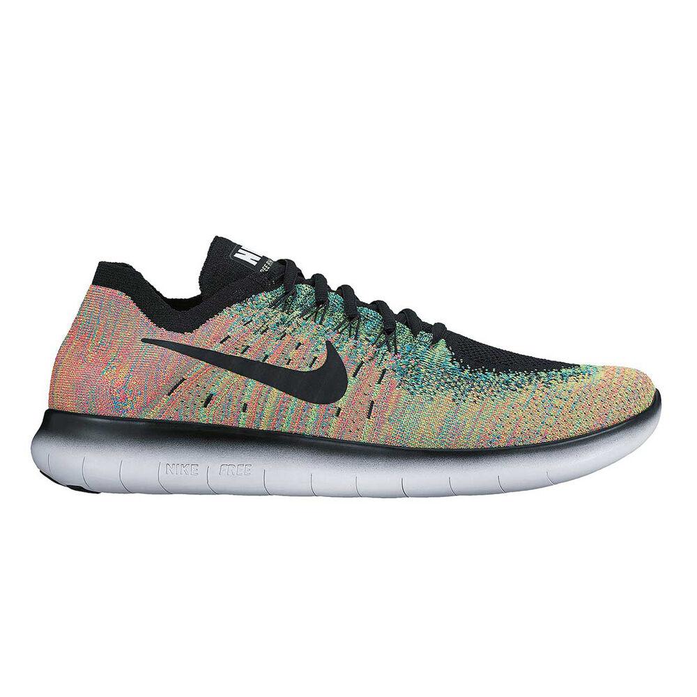 b691d5945b6e Nike Free Run Flyknit 2017 Mens Running Shoes Black   Blue US 9 ...