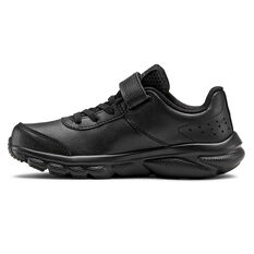 Under Armour Charged Assert 8 Kids Running Shoes Black US 11, Black, rebel_hi-res