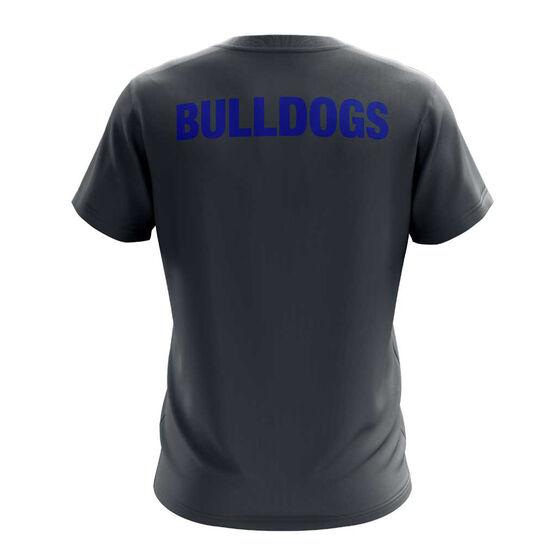 Canterbury-Bankstown Bulldogs Exclusive Tee, Grey, rebel_hi-res