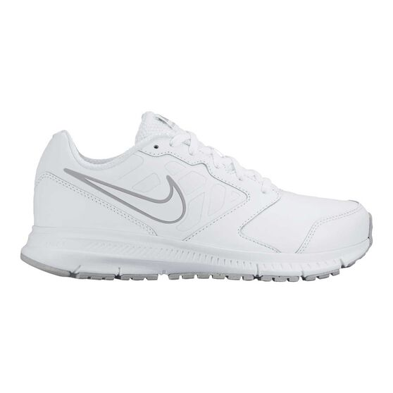Nike Downshifter 6 Boys Running Shoes, White, rebel_hi-res
