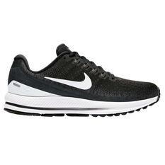 Nike Air Zoom Vomero 13 Womens Running Shoes Black / White US 6, Black / White, rebel_hi-res