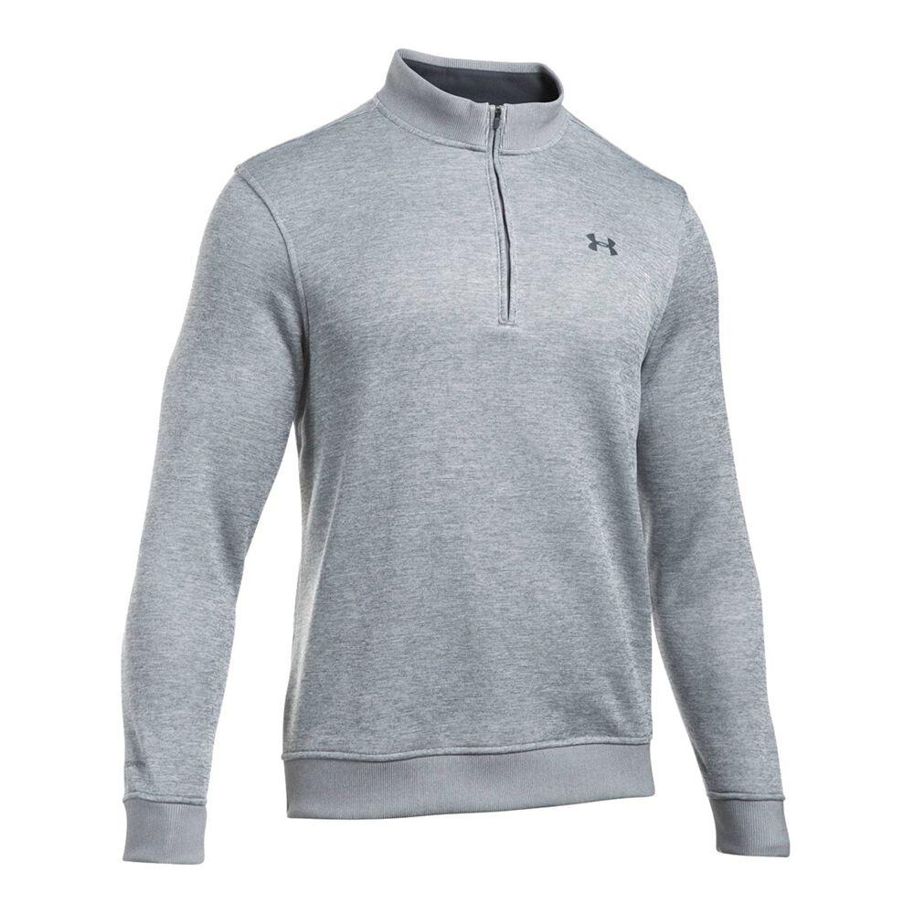 detailed look 6e803 2439c Under Armour Mens Storm SweaterFleece 1 Quarter Zip Top Grey S Adult, Grey,  rebel hi