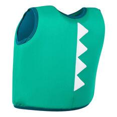 Speedo Infant Sea Squad Float Vest Green 1-2, Green, rebel_hi-res