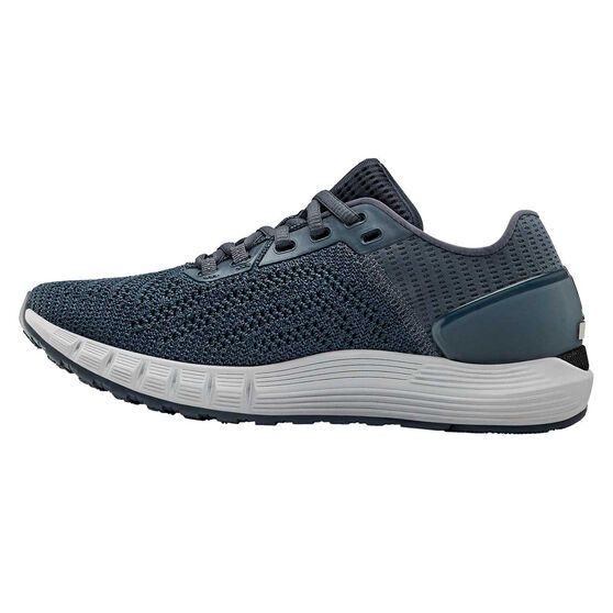 Under Armour HOVR Sonic 2 Womens Running Shoes, Grey / Black, rebel_hi-res