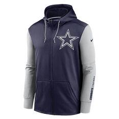 Nike Dallas Cowboys 2020 Mens Therma Full Zip Hoodie, , rebel_hi-res