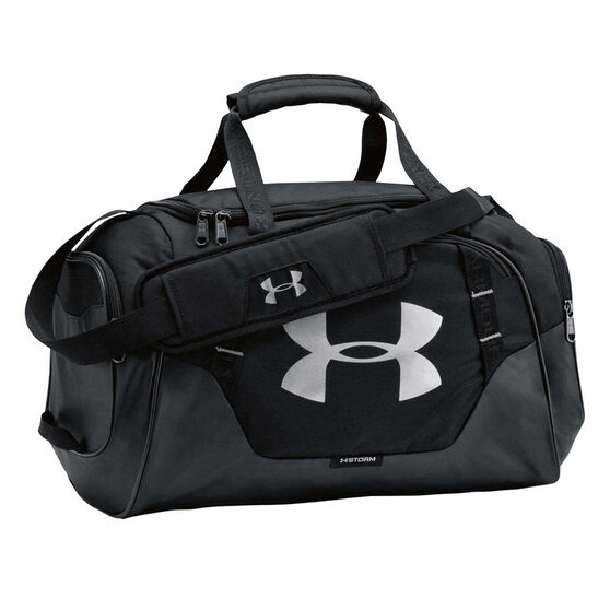 Under Armour Undeniable 3.0 Extra Small Grip Bag Black / Silver, , rebel_hi-res