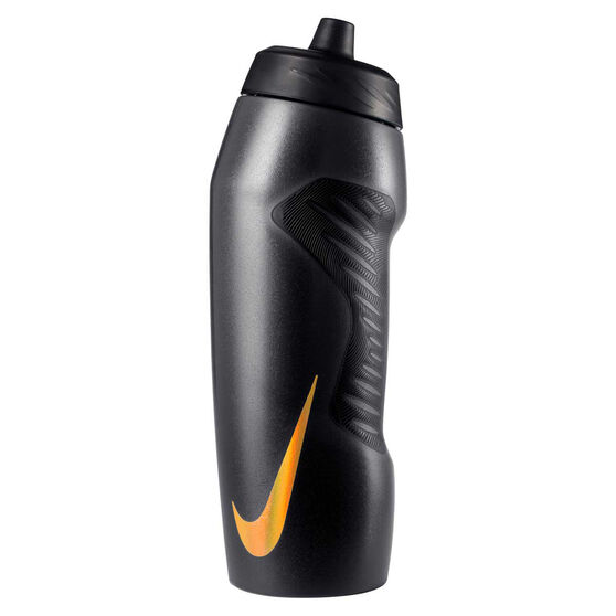 Nike Hyperfuel 946ml Water Bottle Black/Gold, Black/Gold, rebel_hi-res