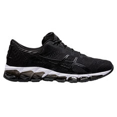 Asics GEL Quantum 360 5 Jacquard Mens Training Shoes Black/White US 7, Black/White, rebel_hi-res