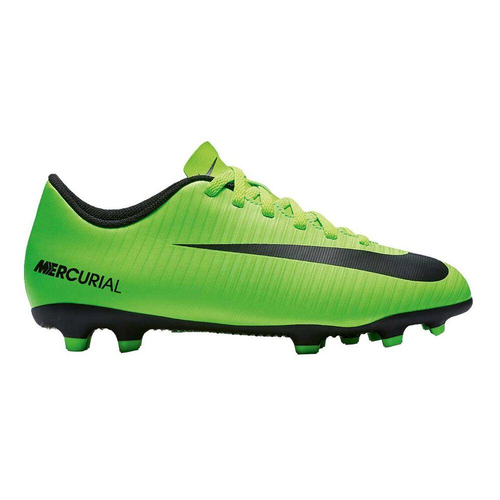 917e05d3d3bf Nike Mercurial Vortex III Junior Football Boots Green   Black US 4 Junior