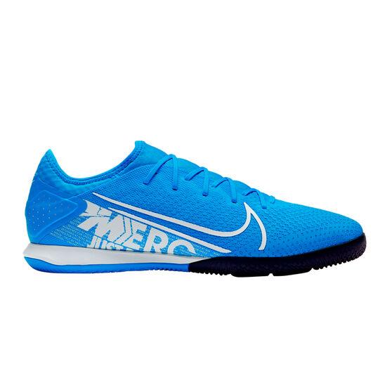 Nike Mercurial Vapor XIII Pro Indoor Soccer Shoes Blue / White US Mens 9.5 / Womens 11, Blue / White, rebel_hi-res