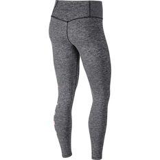 Nike Womens Power Graphic High Rise Tights Grey XS, Grey, rebel_hi-res