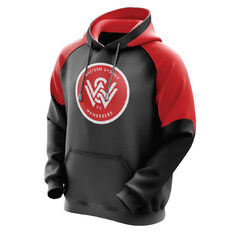 Western Sydney Wanderers Youth Stadium Hoodie Black 8, , rebel_hi-res