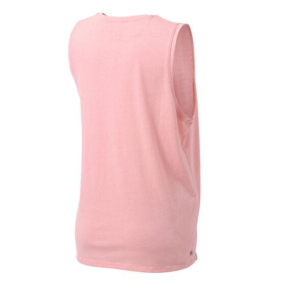 Ell & Voo Womens Taylor Logo Muscle Tank, Pink, rebel_hi-res