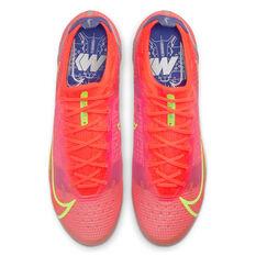Nike Mercurial Vapor 14 Elite Football Boots, Crimson, rebel_hi-res